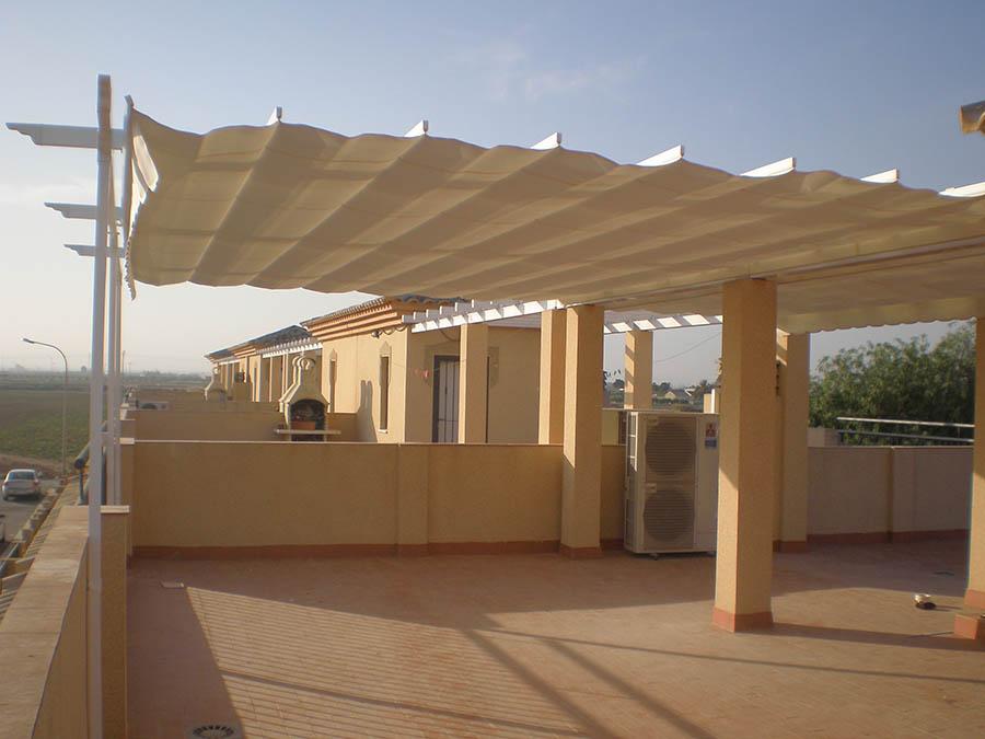Toldos para terrazas cartagena lonas y toldos balastegui - Lona para terraza ...