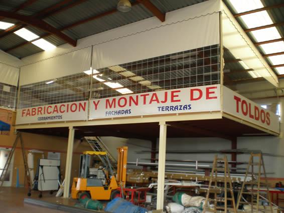 Fabrica de toldos cartagena lonas y toldos balastegui for Fabrica de brazos invisibles para toldos
